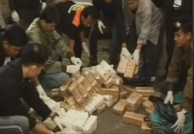 Two Men in Chiang Rai Caught with B60m of 'Methamphetamine'