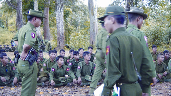 Myanmar Army (MA) and United Wa State Army (UWSA) Engage in Dangerous Maneuvers Near Chiang Rai