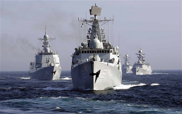 China and Russia Send 19 Warships into Sea of Japan in Largest Ever Naval Exercise