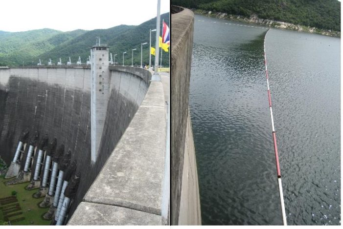 Water Level In Northern Thailand's Dams Worrying