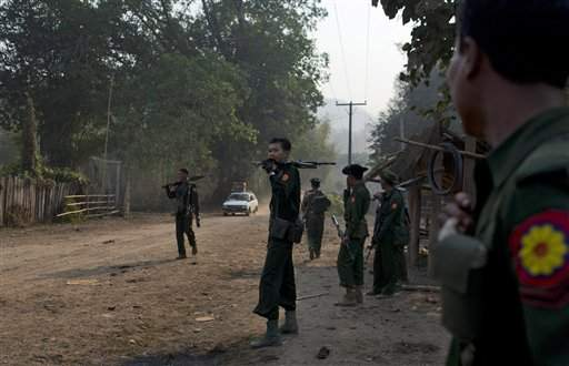 64 North Koreans held by Myanmar Rebels in Rebel Camp Northeast of Tachilek