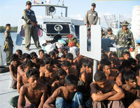 Thai Navy Accused of Involvement In Smuggling Rohingya Muslims