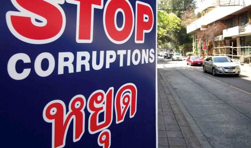 Corruption at all levels of society continues to be a serious problem for Thailand