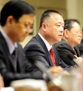 Liu Yuejin, director general of the Narcotics Control Bureau of the Ministry of Public Security