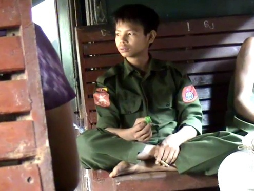 Myanmar Discharges 42 children from the Army