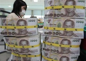 Bank of Thailand cuts 2013 growth forecast to 4.2 percent