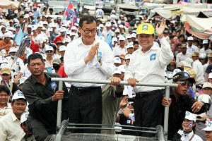 Sam Rainsy's party had alleged electoral lists were manipulated to give the CPP more votes