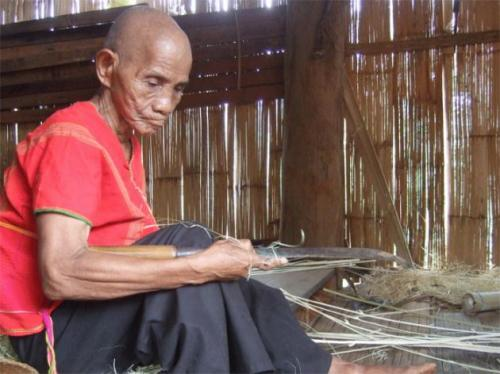 119-year old Kamu Tongnumchokdee, who they plan to nominate to the Guinness World Records as Thailand's oldest person