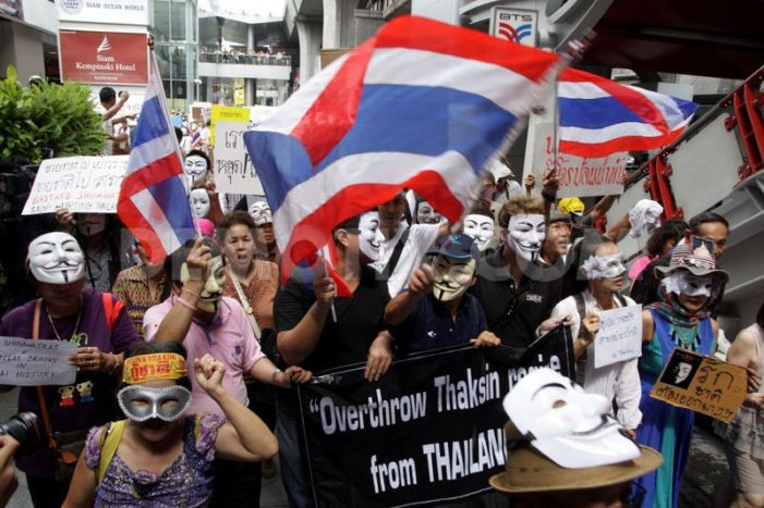 Thai Protesters Gather in Thai Capital to Rally Against Government
