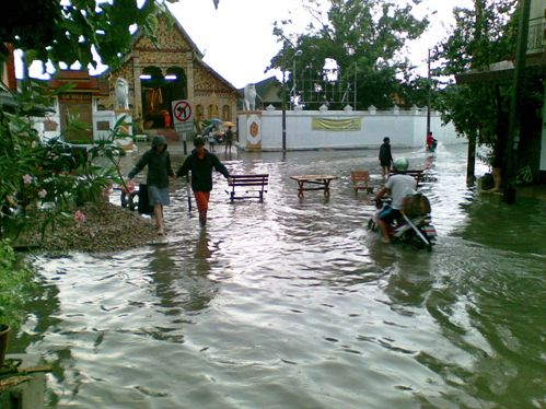 Chiang Rai Officials Set up Centre to Takle Threat of Climate Change