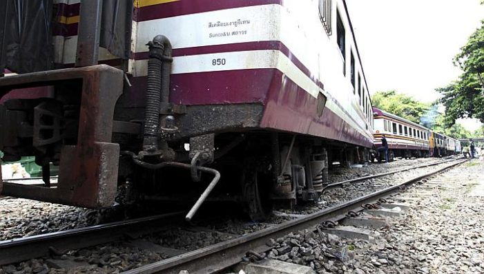 Bangkok-Chiang Mai Train Derails Once Again, Fourth Time in Six Weeks