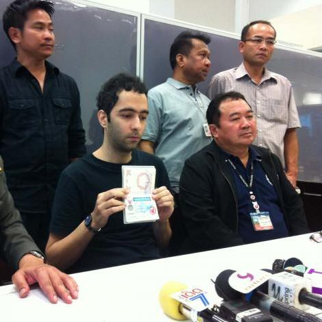 Iranian Found with 'Stolen' Visa from Thai Embassy in Malaysia