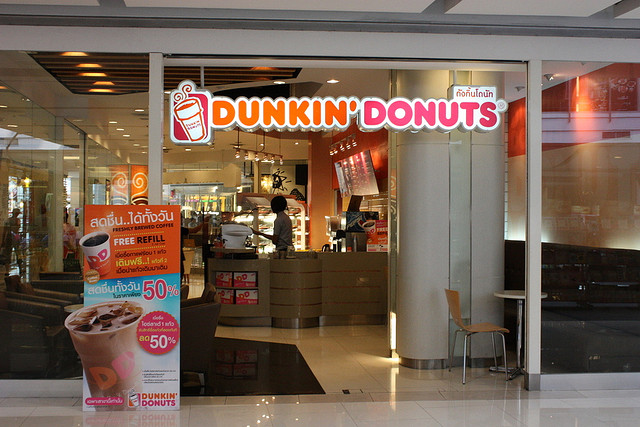 Dunkin' Donuts franchise in Thailand
