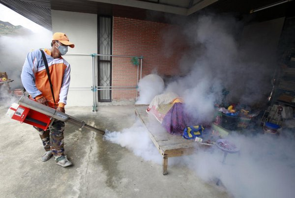 Wiang Chiang Saen sub-district has recently reported an outbreak of dengue fever with over 100 patients, prompting district officials to launch the campaign.