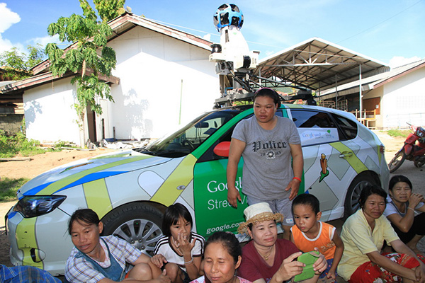 Google Street View Driver Detained by Villagers in Phrae