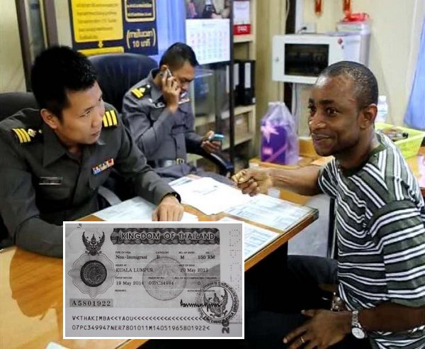 Niger National Kimba 35 Yaou Detained by Immigration Over Stolen Visa Stamps