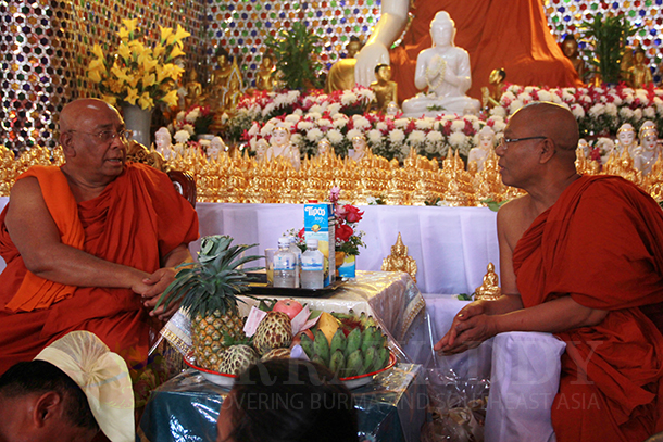 Burmese Abbot Takes Once-Disputed Helm of Monastery in Chiang Mai
