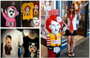 Hitler T-Shirt Shop in Bangkok