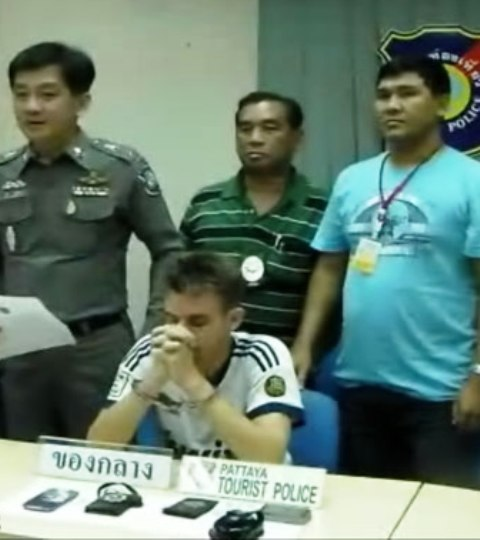 German Arrested for Impersonating a Thai Police Officer
