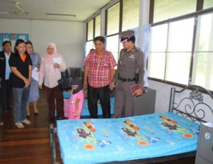 4 Year old at Chonburi Child Care Home with Investigators