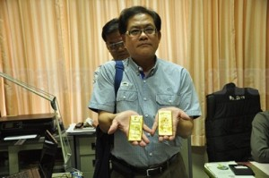 Mr. Chaichana Prapruettipong, Managing Director of Gold Dealers Association in Nakhon Ratchasima, said that the fraudulent gold might have been manufactured abroad and smuggled into the Kingdom