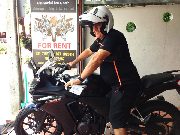 Foreigner Takes off with Expensive Rental Bikes in Chiang Mai and Chiang Rai – Reward Offered for his Capture