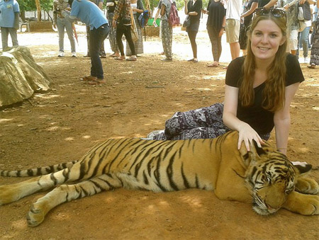 UK Tourist Isabelle Brennan Mauled by Tiger at Temple