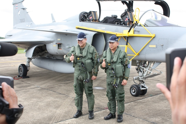 Thai Air Force Targets to Become Regional Leading Force by 2019