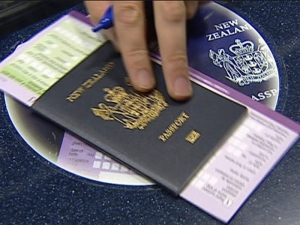 19 New Zealand passports - including those with electronic chips - were found among the forged travel documents
