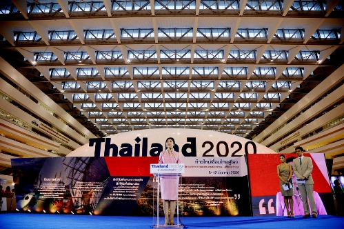 The government has said the funding for the projects, including high-speed railways and mass-transit systems — proposed by Prime Minister Yingluck Shinawatra