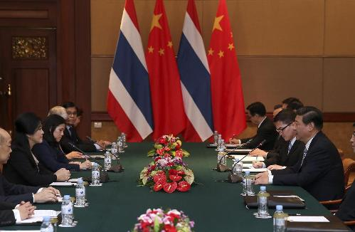 China, Thailand Discuss Advanced Bilateral, China-ASEAN Ties