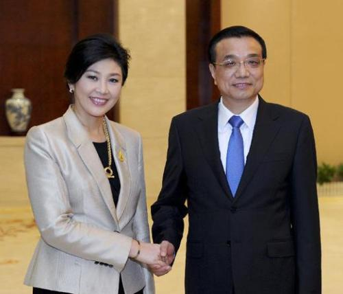 Chinese Premier Li Keqiang Arrives in Thailand for Official Visit