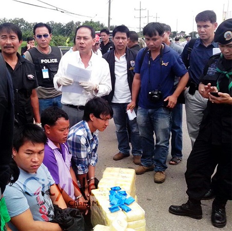 Authorities confiscated 976,000 methamphetamine pills, 35 kilograms of heroin, 1kg of crystal meth - City News Chiang Mai Photo