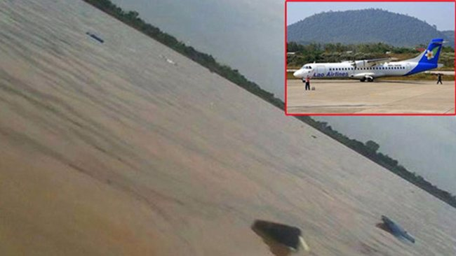 Lao Airlines Plane Crashes into Mekong, 49 Dead