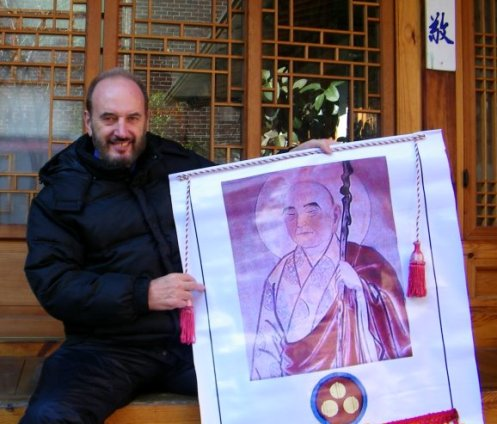 Chiang Rai Resident Tony MacGregor Describes his Historic Pilgrimage across Korean Peninsula to Honor Buddhist Saint Wonhyo