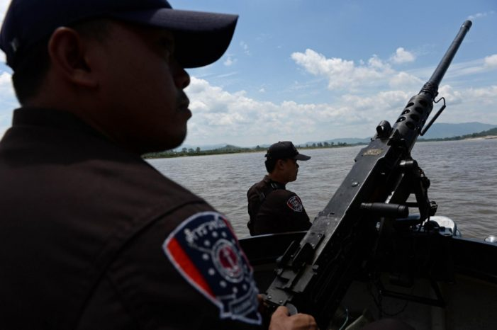 Mekong River Pipe Line to Traffic Drugs to and from Laos and Myanmar
