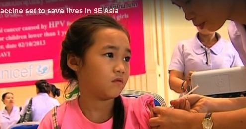 Cervical Cancer Vaccine Set to Save Lives in SE Asia – Video