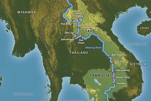 WWF advises Lower Mekong countries considering hydropower projects to prioritise dams on some Mekong tributaries that are easier to assess and are considered to have a much lower impact and risk. Image: Waterpolitics.com