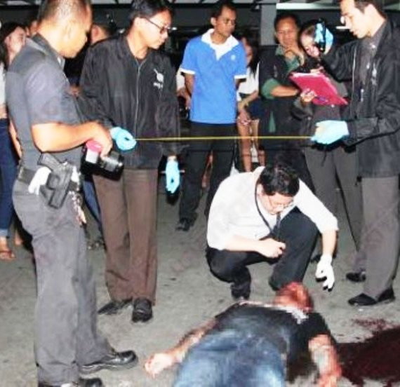 Eric Lelli, age 42, fell to his death at a condo located on Sukhumvit Road Soi