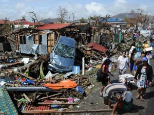The death toll from a super typhoon that decimated entire towns in the Philippines could soar well over 10,000