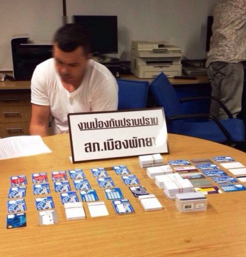 Australian Peter Junas Arrested in Pattaya for Credit Card Scamming