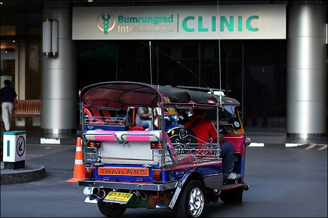 Thailand Tops Destinations for Medical Tourists