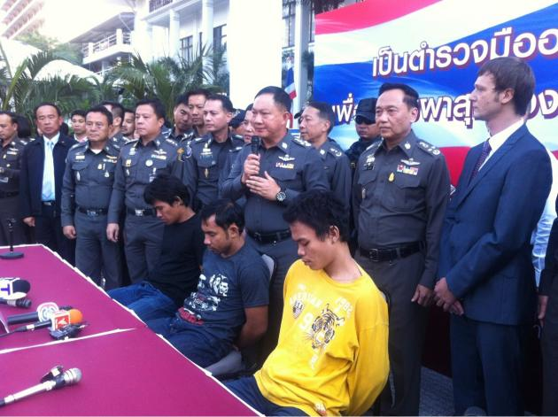 Three Thai Men who Raped Russian Tourists Jailed for 21 to 46 Years