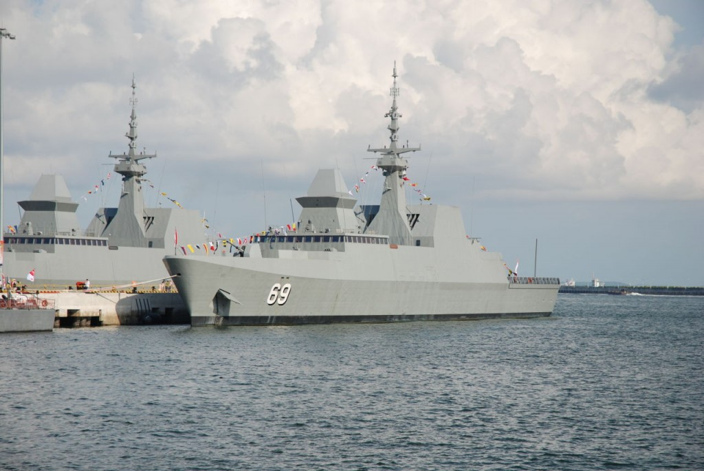 The delivery of the first frigate, DW 3000F, will take place in 2017