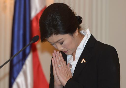 Premier Yingluck Shinawatra Pleads for Rallies to End after Amnesty Defeated- VIDEO