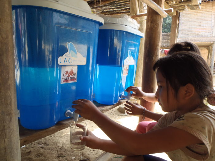 Improving Water and Sanitation, Village of Akha Ayo in Chiang Rai Province