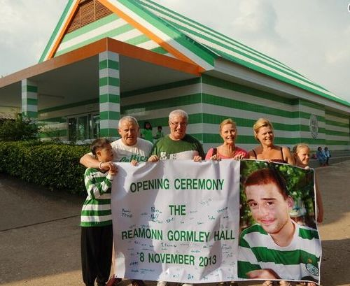 Reamonn Gormley Memorial Hall Opened in Murdered Teenager's Honour