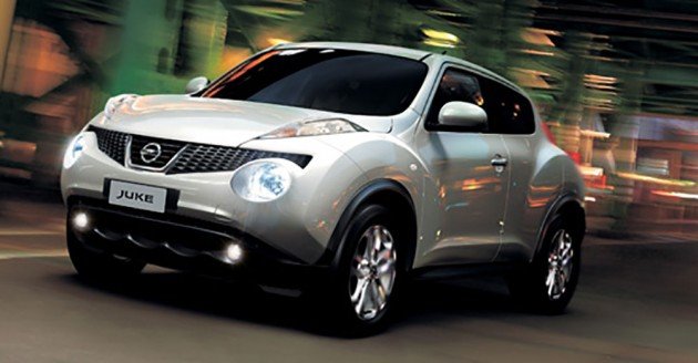 Nissan Juke launched in Thailand – 1.6L and CVT