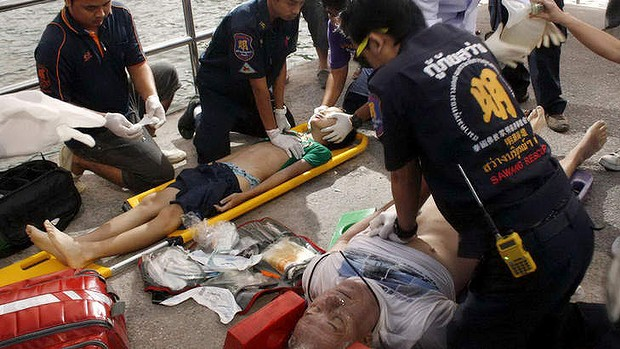 Six Dead as Tourist Ferry Boat Sinks in Pattaya Thailand