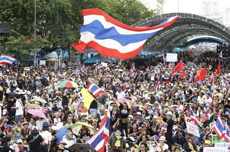 Bangkok Hit by Biggest Protests Since Deadly 2010 Unrest